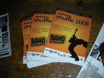 2008 Shuffle Programme