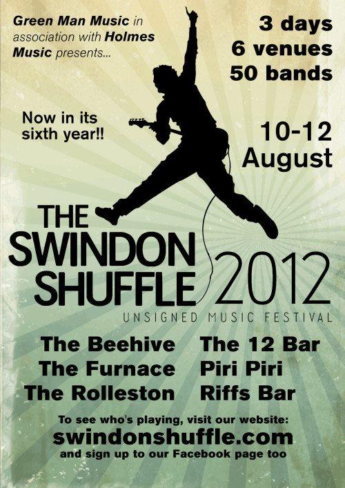 2012 Shuffle Poster