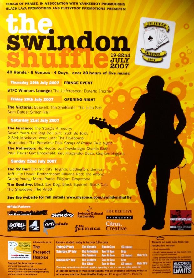 Shuffle Poster 2007